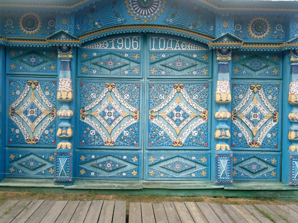 Замки из коллекции Александра Герасимова (г. Удомля Тверской области)